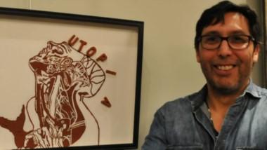 Héctor Eduardo Fonseca expone en el Multi Espacio de Arte de la Fundación Tercer Milenio de Trelew.