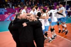 Otro oro para Argentina: el seleccionado de vóley masculino venció a Cuba y se subió a lo más alto del podio.