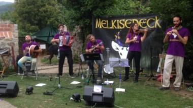 Melkisedeck acabó encandilando al público europeo que con su propuesta musical fresca  y alegre.