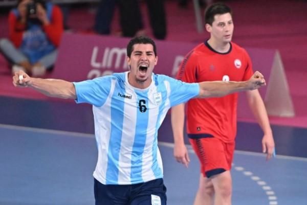 Argentina logró su segunda medalla dorada en el handball de los JJPP y clasificó por tercera vez a unos Juegos Olímpicos.