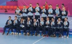 Los Gladiadores, le ganaron a Chile y se llevaron la medalla dorada, única presea de la delegación Argentina en este lunes.