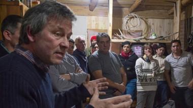 Pol Huisman visita a los vecinos y reafirma su compromiso de trabajar con consensos.