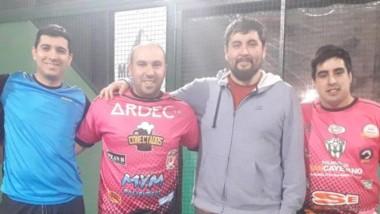 En las instalaciones de Germinal Pádel, se realizó un nuevo torneo.