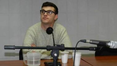 Maximiliano Larrabaster condenado. Apuñaló a su pareja en el abdomen en 2007 luego de una discusión.