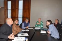 Funcionarios y concejales analizaron la situación del transporte público