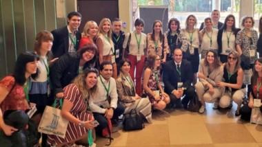 La delegación de Madryn expuso sobre la experiencia en materia de turismo de reuniones en la ciudad.