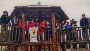 Chicos de Capablanca que participaron del clasificatorio provincial.