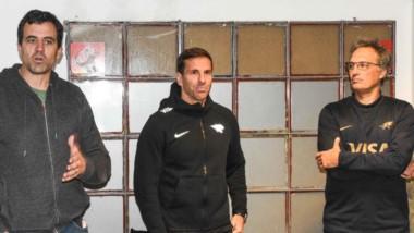 De izquierda a derecha: Nicolás Wargon (PMRC), Gonzalo Quesada (Jaguares) y Germán Fernández (UAR).