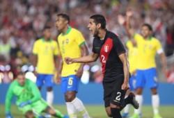 El defensor de Vélez, Luis Abram, marcó el único gol en el triunfo de los