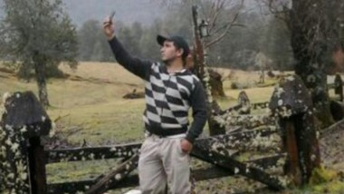 """Tiempo feliz. """"Mai"""" Bustos en una fotografía difundida previo a su captura en el vecino país de Chile."""