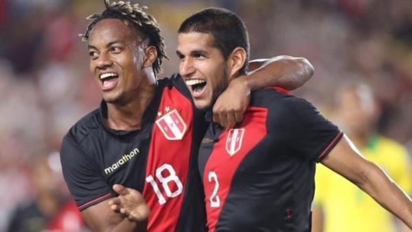 Con este gol de Luis Abram cerca del final del partido, la Selección de Perú le ganó 1-0 a Brasil en Estados Unidos.