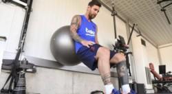 Messi les respondió a todos los que piensan que se va del Barcelona.
