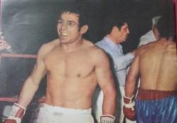 Murió un guapo de los tiempos románticos del boxeo: Abel Cachazú.