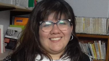 Daniela Romero es la responsable de la Biblioteca Municipal.