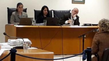 Los jueces Olavarría, Arcuri y Caviglia declararon a A.E.O. culpable.