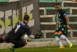 """El """"Verde"""" empató ante Gaiman FC en su última presentación liguista."""