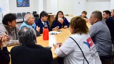 Debate. Los ediles se reunieron con trabajadores de la salud y piensan alternativas ante la crisis.