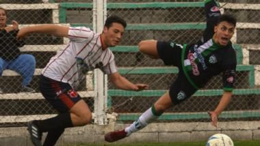 Rodrigo Ríos, autor del primer gol de Germinal, fue expulsado en tiempo de descuento, antes del empate.