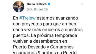 Ignorancia. El ministro nacional cree que Trelew también tiene mar.