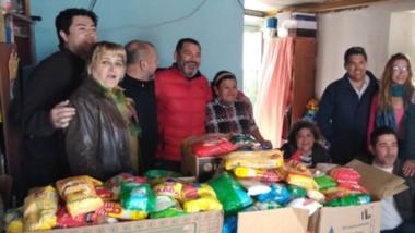 Comedores y merenderos de Trelew recibieron todo lo recolectado en una exitosa actividad solidaria.