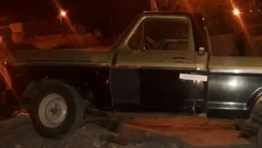 La camioneta fue secuestrada en el barrio Inta de Trelew.