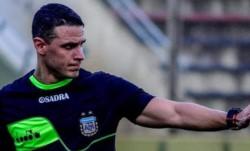 Andrés Carlos Gariano, árbitro perteneciente a la Liga Sanlorencina de Fútbol, volverá a dirigir a Brown.