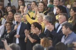 Macri volvió a compartir un acto con Elisa Carrió y dejó un mensaje en clave electoral: