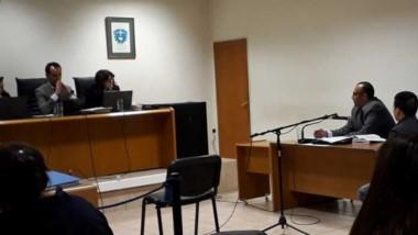 La suspensión del debate fue a solicitud de la Defensa de los acusados.