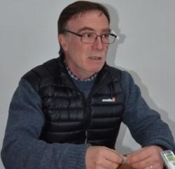 Augusto Sánchez, candidato del Frente de Todos en Lago Puelo