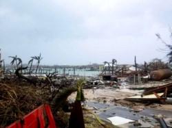 Paraíso destruido: el poderoso huracán Dorian golpeó las Bahamas con su máxima categoría.