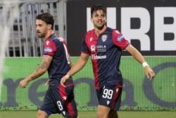 El delantero argentino metió uno de los goles en el triunfo del Cagliari ante Genoa.