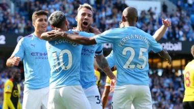 Después de una derrota, el Manchester City volvió con todo. Los de Pep golearon 8-0 al Watford y consiguieron su triunfo más abultado.