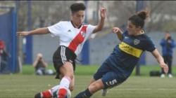 Este martes, desde las 15.10 horas, River chocará con Boca en la Bombonera por la primera fecha del fútbol femenino.