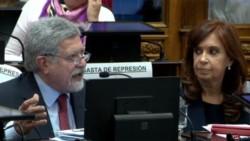 El jefe del bloque de senadores del Frente para la Victoria, Marcelo Fuentes, aseguró que que el pedido de desafuero de Cristina no avanzará en el Senado. (Archivo)