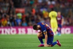 Leo, una vez más, encendiendo alarmas en Barcelona.
