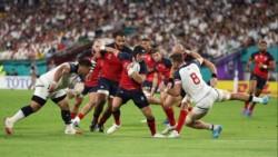 Inglaterra no tuvo piedad y aplastó a Estados Unidos para conseguir dos triunfos en dos fechas.