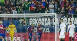Eibar vence al Sevilla tras culminar una heroica remontada.