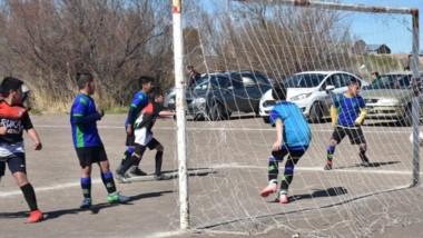 El fútbol infantil jugó su quinta fecha en cancha de Ruka Junior.