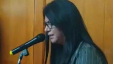 Lucía Baigorria, activista , militante  y representante de la ATTTA.