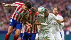 Atlético de Madrid y Real Madrid aburrieron en el clásico por la Liga española.