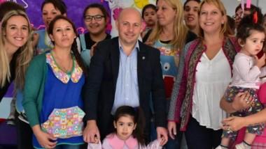 Sastre ponderó la política aplicada en primera infancia.