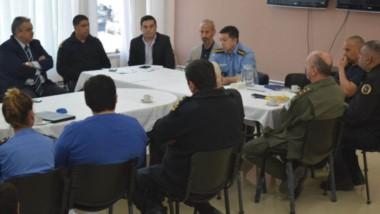 Fuerzas de seruridad de la provincia y la nación mantuvieron un fructífero encuentro con  una compañía de telefonía. Trabajarán juntos.