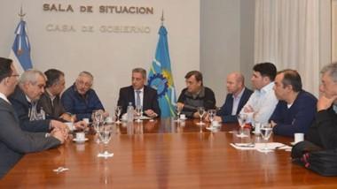 Maderna fue uno de los intendentes que tuvo participación dentro de la Mesa de Concertación el viernes.