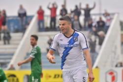 El mendocino Cristian García marcó su primer gol como jugador profesional.