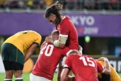 Gales venció a Australia en los mejores 80 minutos del torneo.
