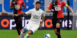 Benedetto tuvo una clara en el segundo tiempo, pero no la pudo aprovechar y el Olympique de Marsella igualó 1-1 con el Rennes.