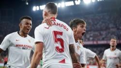 Con goles de Nolito, Ocampos y el Mudo Vázquez, el Sevilla venció 3-2 a la Real Sociedad (Oyarzabal y Portu).