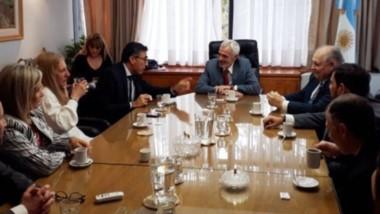 Cumbre. La cúpula del STJ escuchó las advertencias de la Asociación y de la FAM ante la crisis en tribunales.