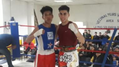 Con siete peleas, se desarrolló en el Centro Comunitario Luis Vernet de Rawson un festival de boxeo.