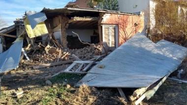 El primer inmueble de materiales de Madryn fue demolido hace 30 días.